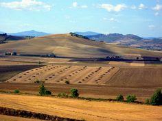 Landescape Maremma Tuscany