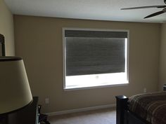 Grasscloth Blackout Pewter cordless roller shade with easy stop Window Blinds, Blinds For Windows, Window Coverings, Window Treatments, Budget Blinds, Custom Windows, Roller Shades, Window Styles, Shutters