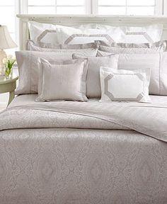 CLOSEOUT! Lauren Ralph Lauren Bedding, Suite Mink Full/Queen Duvet Cover on shopstyle.com