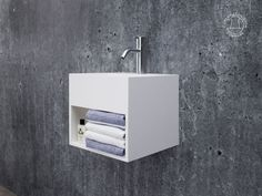"""""""Søndersø 30"""" wash basin from Copenhagen Bath."""