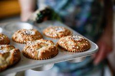 Glutenfria hastbullar med mycket smak av nystött kardemumma!