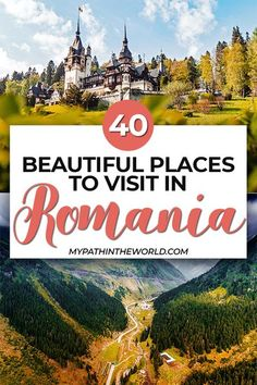 Romania travel guide: 40 beautiful places in Romania, travel tips, and more. Europe Travel Guide, Travel Destinations, Travel Guides, Instagram Inspiration, Travel Inspiration, European Destination, European Travel, Beautiful Places To Visit, Cool Places To Visit