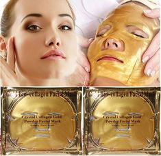 Cheap gold mask skin care, Buy Quality gold plating directly from China mask aloe Suppliers: Gold Bio-Collagen Peel Facial Face Mask Anti-Aging Whitening Hydrating Repair Skin New Face Facial, Facial Masks, Peeling Maske, Gold Face Mask, Collagen Facial, Les Rides, Uneven Skin Tone, Face Skin Care, Skin Brightening