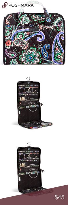 Vera Bradley hanging travel organizer Hanging travel organizer
