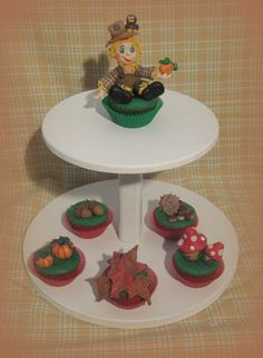 Cupcakes la magia dell'autunno