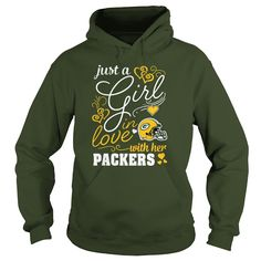 Green Bay Packers - Just A Girl In Love With Her Shirt