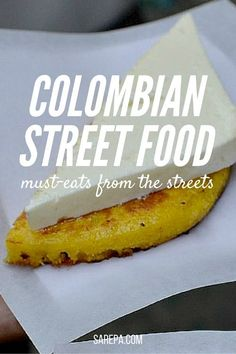Colombian street food: Your guide to good eats on the streets Sarepa's ultimate guide to Colombian street food. Your guide to good eats on the streets of Colombia. Cali Colombia, Colombia Travel, Columbia South America, South America Travel, Colombian Food, Colombian Culture, Equador, Best Street Food, Le Diner