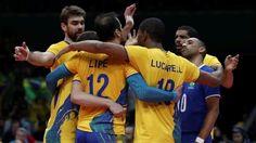 Seleção brasileira masculina de vôlei vai encarar a Argentina nas quartas