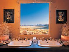 14. Mountain View Lodge, Dunes Camp, NamibRand Nature Reserve, Africa.