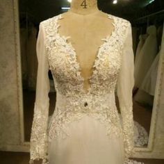 Brides who can not afford a haute couture wedding dress will contact us to see if we can make a replica of the design that is similar but cost much less.  many times we are able to create #replicaweddingdresses that are less expensive. We can work from any picture you provide.  Find out how we work with long distance brides and get pricing on any dress you love when you contact us directly.