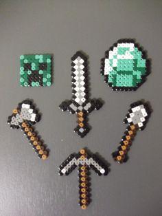 Minecraft set of keychains. €0.75, via Etsy.