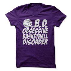 O.B.D. Obsessive Basketball Disorder T Shirt, Hoodie, Sweatshirt
