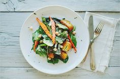 Glazed Beet + Carrot Salad.