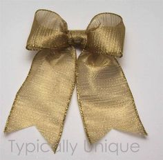 Wire edged ribbon bows 'Gelda' http://stores.ebay.co.uk/Typically-Unique-Flowers-and-Gifts?_rdc=1