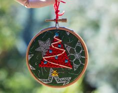 In Christmas colors by Alicja Piotrowska on Etsy