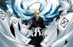 Tags: Anime, BLEACH, Kurosaki Ichigo, Zaraki Kenpachi, 11th Squad, Hitsugaya Toushirou, Kuchiki Byakuya