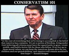Ronald Reagan Conservatism 101