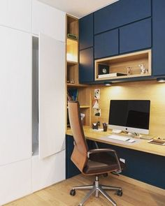 Home office decor is a very important thing that you have to make percfectly in your house. You need to make your home office decor ideas become a very awe Industrial Office Design, Industrial House, Office Interior Design, Home Office Decor, Office Interiors, Home Decor, Office Designs, Industrial Table, Industrial Bedroom