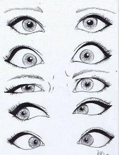 drawings of some eyes #lovethem #art #eyes