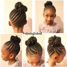 Love this kid friendly protective style via @returning2natural - http://community.blackhairinformation.com/hairstyle-gallery/kids-hairstyles/love-this-kid-friendly-protective-style-via-returning2natural/