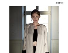 Working On Myself, New Work, Poland, Duster Coat, Behance, Magazine, Paris, Gallery, Check