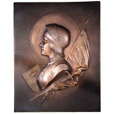 Jeanne d'Arc en armu