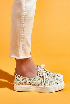 Slide View: 6: Keds x Rifle Paper Co. Sneakers