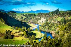 The early reaches of the Whanganui River as it flows out of the mountains. Visit New Zealand, Golf Courses, Posts, River, Mountains, Blog, Messages, Blogging, Rivers
