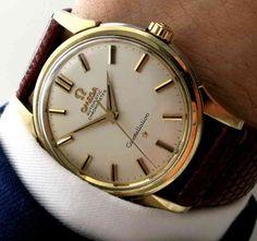 Serviced original Omega Constellation clock