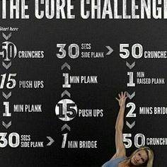 The core challenge - I have to try that! The core challenge - I have to try that! Fitness Workouts, Fitness Motivation, Daily Motivation, At Home Workouts, Core Workouts, Quick Workouts, Workout Exercises, Core Exercises, Workout Abs