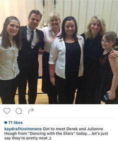 Derek & Jules with fans in Idaho