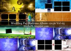 Photoshop Karizma Album Design Psd 12X36 Vol 05 Download
