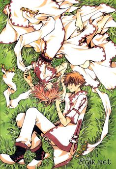 CLAMP - Tsubasa Reservoir Chronicle 【Sakura & Syaoran】Their drawings never failed me. Love CLAMP!