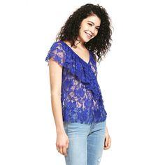 9 mejores imágenes de blusa azul rey  5189981f345