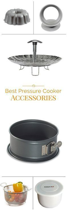 Best Pressure Cooker Accessories for the electric pressure cooker and Instant Pot. #Jamie'scookingtips