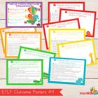 EYLF - Early Years Learning Framework Posters (A4) are designed to print off and use as a classroom display to highlight learning in your early lea...