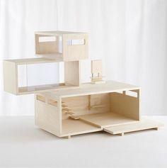 modern dollhouse | land of nod