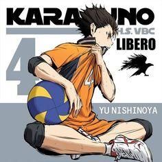It's our favorite Libero! Hinata, Naruto, Haikyuu Nishinoya, Haikyuu Meme, Haikyuu Characters, Anime Characters, Anime Love, Anime Guys, Haruichi Furudate