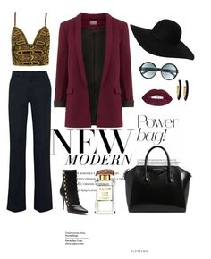 """""""Untitled #18"""" by bibi-bianca-1 on Polyvore featuring Versace, dVb Victoria Beckham, Balmain, Givenchy, Monki, Tom Ford, Chico's and AERIN"""