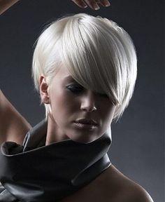 Platinum Blonde coiffures! - Coupe Courte Femme