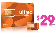 Say goodbye to contracts w/ #Ultra Mobile Prepaid Plans offering Unlimited #Voice Calls (U.S.)/Unlimited International Calls up to 55 countries.