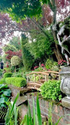 Beautiful Nature Pictures, Beautiful Nature Scenes, Beautiful Landscapes, Landscape Edging Stone, Landscape Design, Garden Design, Amazing Gardens, Beautiful Gardens, Magical Gardens