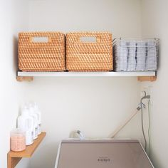 Laundry In Bathroom, Magazine Rack, Towel, Room Decor, Organization, Cabinet, Storage, Interior, House