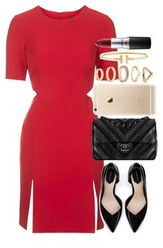 """""""Untitled #953"""" by isacris-28 ❤ liked on Polyvore featuring Topshop, Zara, Chanel, Forever 21, Tiffany & Co. and MAC Cosmetics"""
