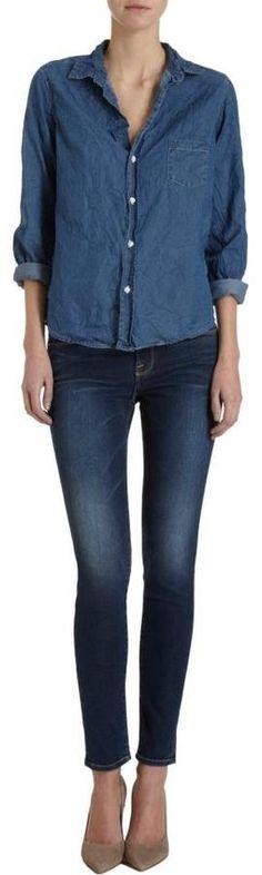 Denim Shirt via boutiika.com $198