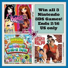 Win 3 Nintendo 3DS games