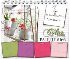 Welcome to Palette #166  New release MARCH 2014