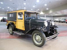 1931 Ford Model A Woody Huckster.