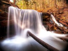 how to photograph Waterfall with blurred motion
