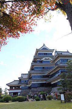 松本城  いつ見ても落ち着いた風格がある  Matsumoto-jo caslte #Japanese castle